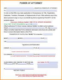 Uniform Statutory Form Power Of Attorney California by 11 Medicaid Power Of Attorney Form Week Notice Letter