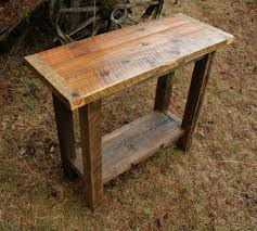 Wood Sofa Table Design Sofas Center Rustic Sofa Tables With Storage Table Stools Log