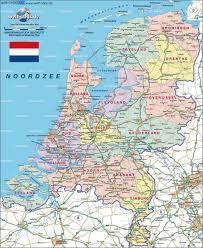 Map Netherlands Tilburg Map