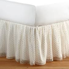 Gold Polka Dot Bedding Meritt Tulle Tutu Gold Polka Dot Bedskirt