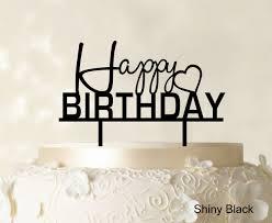 happy birthday cake topper happy birthday cake topper personalized glitter cake topper cake