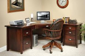 Wood Corner Desks For Home Wooden Corner Desks For Home Office Decorating Ideas Desk