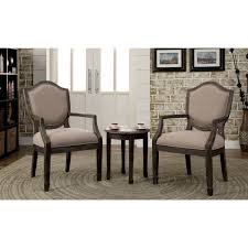 living room chair set furniture of america caroline 3 piece living room furniture set