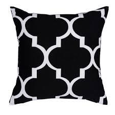 Black Sofa Pillows by Aliexpress Com Buy Black Pillow Geometric Cushions Decorative