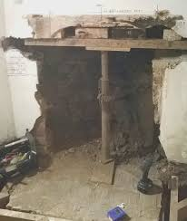 fireplace remove brick fireplace remove paint from brick chimney