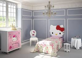 gray hello kitty bedroom room decor and design
