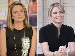 amy robach hairstyle gma s amy robach cuts hair short to take control away from