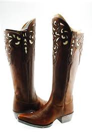 womens cowboy boots size 9 ariat hacienda womens cowboy knee high shaft boot