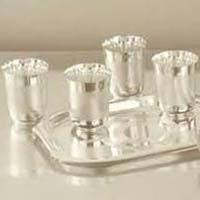 Baby Silver Gifts Silver Baby Cutlery Set Manufacturer By Lichmandas Poosalal Sarraf