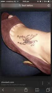 butterfly tattoos ankle 96 best feet tattoo images on pinterest tatoos design tattoos