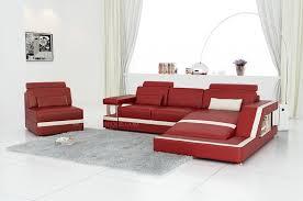fauteuil et canapé canapé d angle en cuir italien design et pas cher modèle york