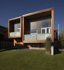 architecture modern side house wallflower architecture design