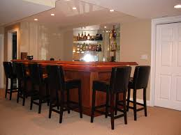 magnificent finished basement bar ideas with images about basement
