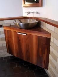 Teak Wood Bathroom Bathroom Tempting Bathroom Furniture Floating Brown Varnished