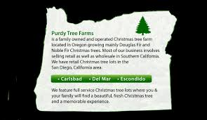 Christmas Decorations Wholesale In San Diego by Purdy Tree Farms U2013 Quality Christmas Trees From The Pacific Northwest