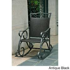 Metal Patio Rocking Chairs Best 25 Industrial Outdoor Rocking Chairs Ideas On Pinterest