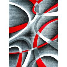 Large Red Area Rug Red Black And Gray Area Rugs Joy Carpets Kid Essentials Jazzy