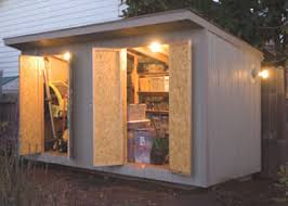 Building Backyard Shed by Wiring A Garden Shed Extreme How To