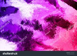 Purple Paint by Abstract Purple Pink Acrylic Paint Brush Stock Illustration