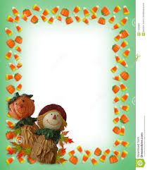 halloween background leaves halloween border pumpkin scarecrow stock photos image 11285883