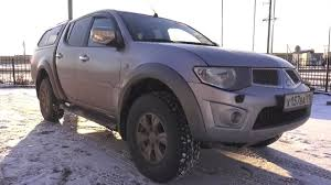 mitsubishi strada 1995 2013 mitsubishi l200 kb4t 2 5d mt start up engine and in
