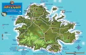 Map Of Coral Reefs Antigua Dive Map U0026 Coral Reef Creatures Guide Franko Maps