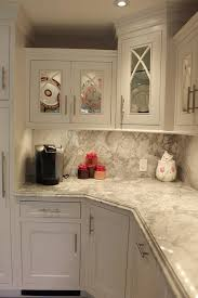 kitchen countertop backsplash white quartzite countertop and backsplash the cobblers