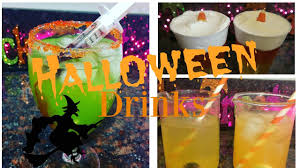 easy halloween party drinks youtube