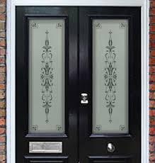 Glass Door Etching Designs by Etched Glass Door Panels Philip Bradbury Glass