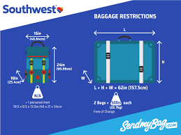 Southwest Baggage Fees | 2017 southwest baggage allowance for carry on checked baggage