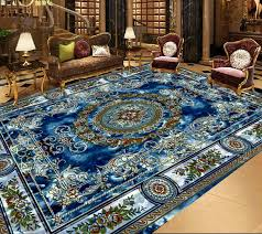 self adhesive wallpaper blue europea royal blue wallpaper 3d floor custom sticker 3d floor