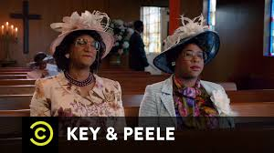 Old Lady College Meme - key peele georgina and esther and satan uncensored youtube