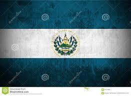 Flag El Salvador Grunge Flag Of El Salvador Stock Illustration Illustration Of
