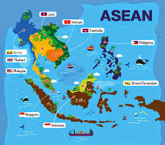 Countries Map Asean Countries Map Image Gallery Hcpr