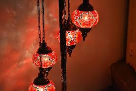 Mosaic Floor Lamp 110 230v Handmade Turkish Floor Lamp Mosaic 5balls Mosaic Lamp