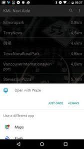 waze apk kml aide navi waze apk free maps