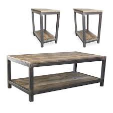 coffee table end table set coffee and end table sets jw atlas wood co