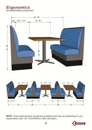Restaurant Booths And Tables by How To Customize Your Booth Tips And Ideas