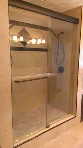 stylish frameless sliding shower doors home design by john