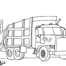 dump truck free coloring pages on art coloring pages