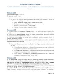 problems statistics 1