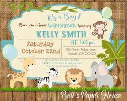theme invitations safari theme baby shower invitations safari theme baby shower