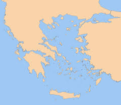 blank map of ancient greece blank greece map