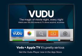 vudu app officially launches on apple tv mac rumors