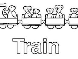 train is for letter t coloring page bulk color