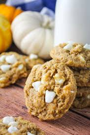 cookies cuisine az chewy pumpkin oatmeal white chocolate chip cookies baked in az