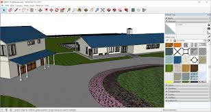 home extension design tool adding colors and textures with materials sketchup knowledge base
