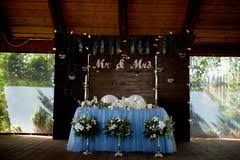 mr and mrs table decoration mr and mrs white wedding letters hanging sign stock photo image of