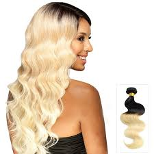 20 inch hair extensions 16 inch wave ombre indian remy hair weave two tone color 1b