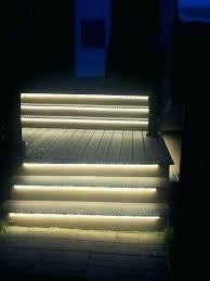 Outdoor Light Strips Led Deck Lighting Strips Custom Outdoor Stair Lights Led Home